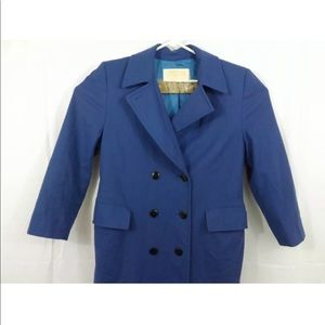 Pendleton Pea Coat Womens Size 8 100% Wool Classic